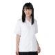 スクールシャツ 半袖 女子 学生 開衿 ブラウス 形態安定 白 左胸ポケット