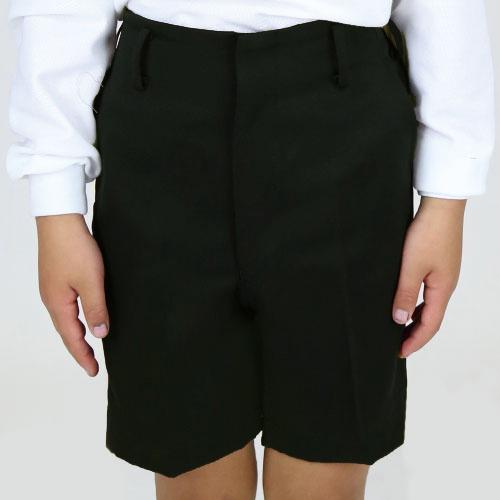 小学生 標準型 夏半ズボン 【黒 ロング丈】