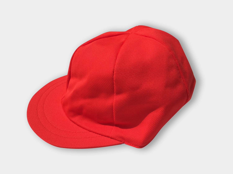 UVカット加工 赤白帽 | ゴムつき 名札つき スクール 学生服 学校 夏 運動会