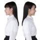 スクールブラウス 長袖 女子 丸衿 ブラウス 形態安定 白 左胸ポケット