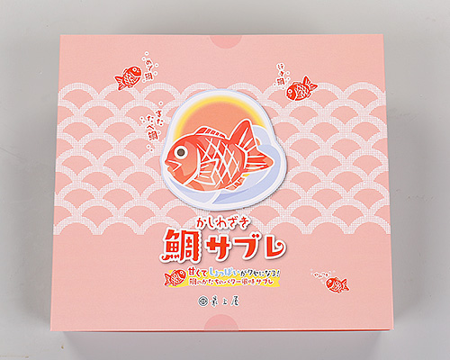 【化粧箱入】鯛サブレせっと(プレーン&塩レモン)