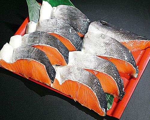 甘塩時鮭切身(8切)