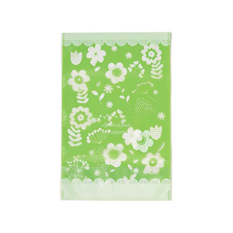 花びらスタンド袋(ライトグリーン)