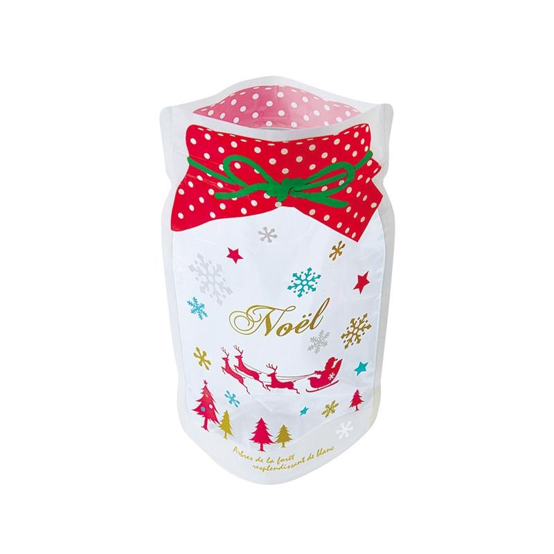 ビン型チャック付バッグ・クリスマスS