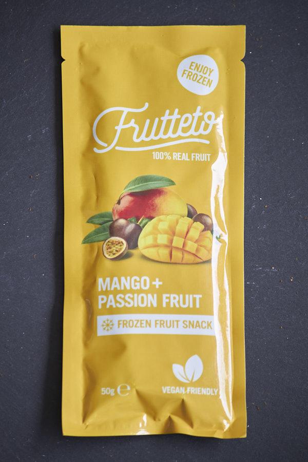 無添加アイスキャンディFrutetto「マンゴー&パッションフルーツ」