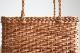 宮本工芸 あけびカゴバッグ ホラ編み 角ロータイプ