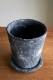 編み編み陶器鉢 ブラック