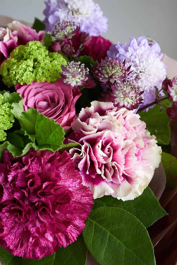 【母の日ギフト】7.グラデーションパープル Bouquet