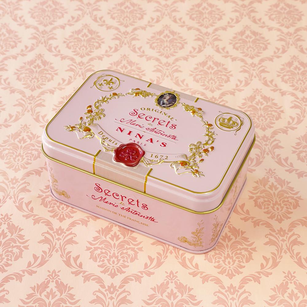 ドラジェ缶 チョコレート&マリーアントワネットソフトキャンディー 100g