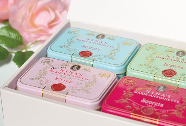 Royal box for tea&ドラジェ缶 専用ギフトBOX