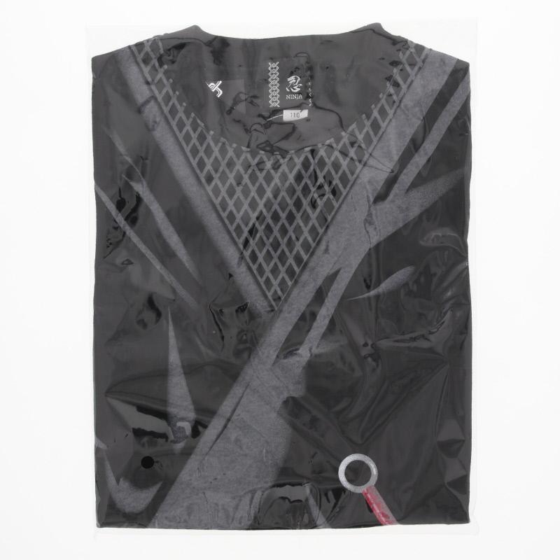 忍者Tシャツ 子供 黒/110