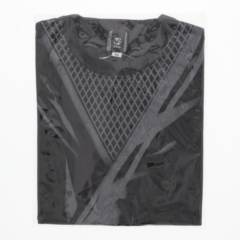 忍者Tシャツ 子供 黒/150
