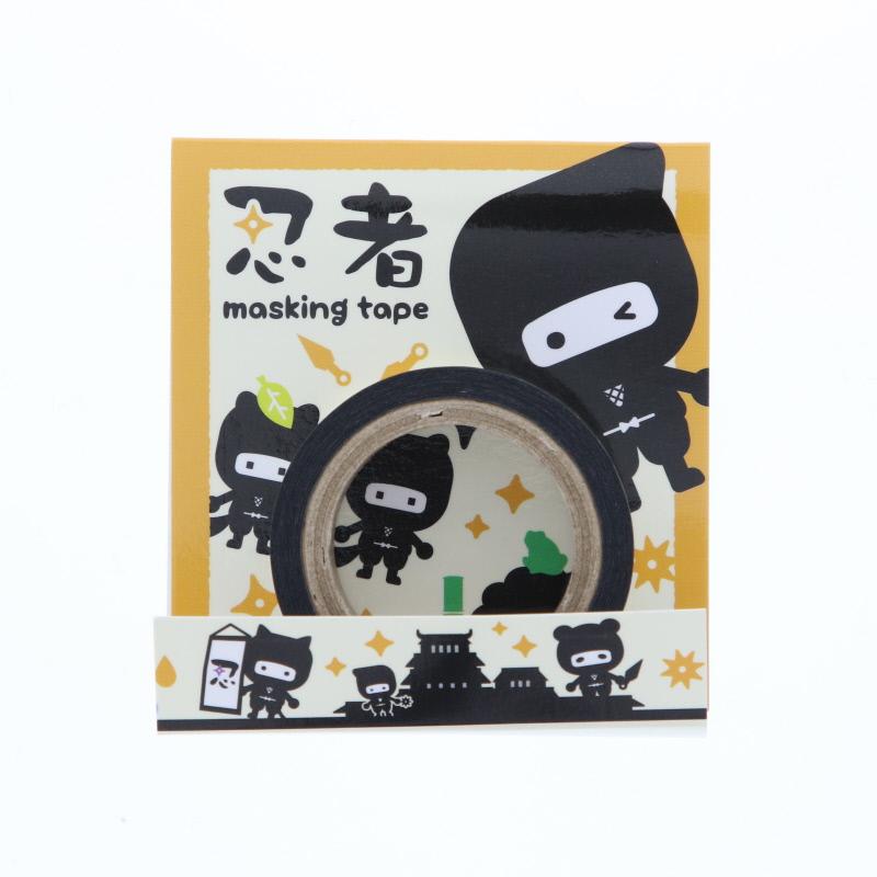 NJMT04YE 忍者マスキングテープ(イエロー)
