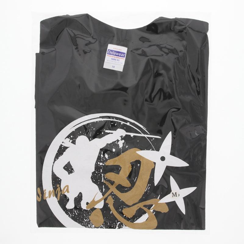 Tシャツ 忍・黒/L