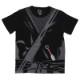 忍者Tシャツ 子供 黒/130
