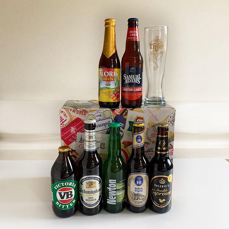 世界のプレミアム・ビール。 ギフトセット スペシャル ボックス 入り