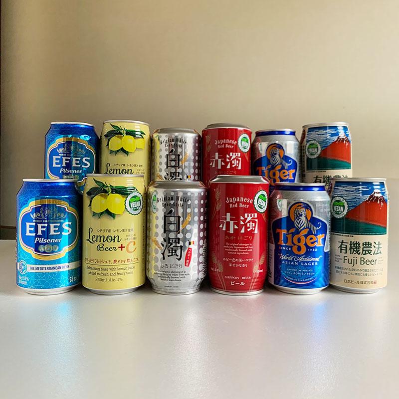 プレミアム・クラフト ビール 缶 ギフト セット12 スペシャル ギフト ボックス入り