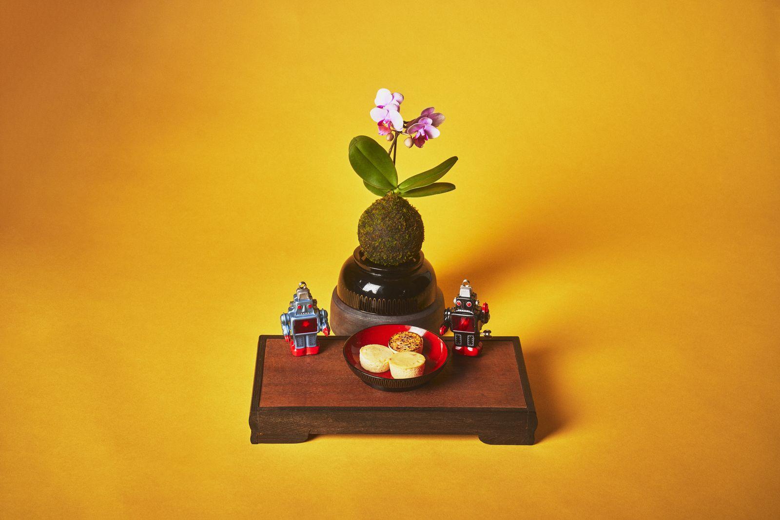 御献上ひとくちチーズケーキ 柑橘 3種3個入(プレーン、ゆず、オレンジ)