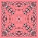 『バンダナ[ピンク]』(平織96cm)