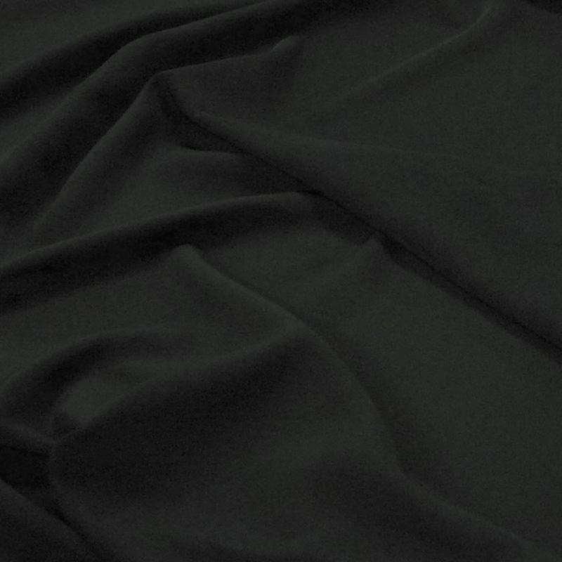 撥水加工生地・織物ファイユ(ブラック・巾110cm)