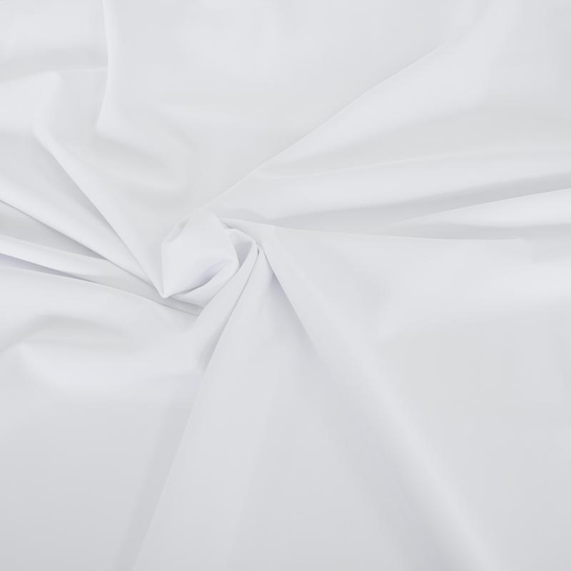 撥水加工生地・2WAYトリコット (ホワイト・巾150cm)