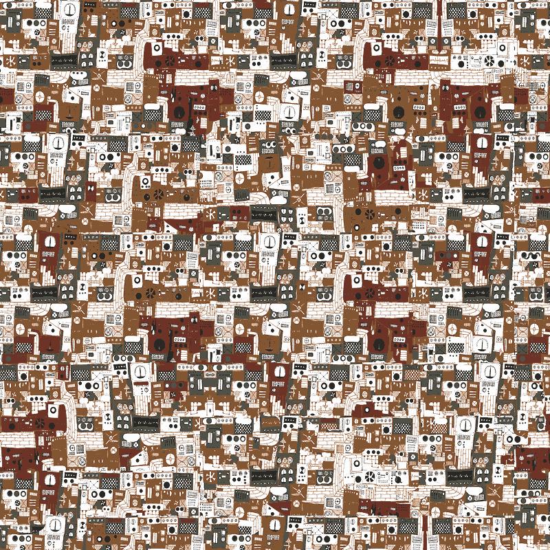 『machine』(平織96cm)