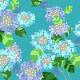 『紫陽花(あじさい)』(平織96cm)