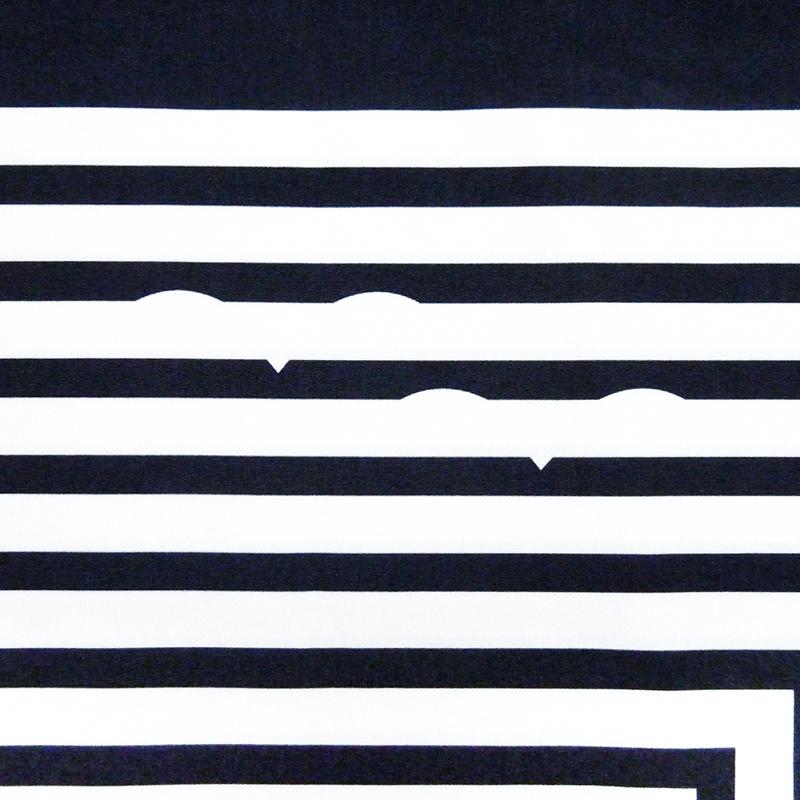 『マリンボーダー』(平織96cm)