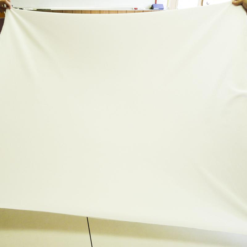 撥水加工生地・織物ファイユ(キナリ・巾110cm)