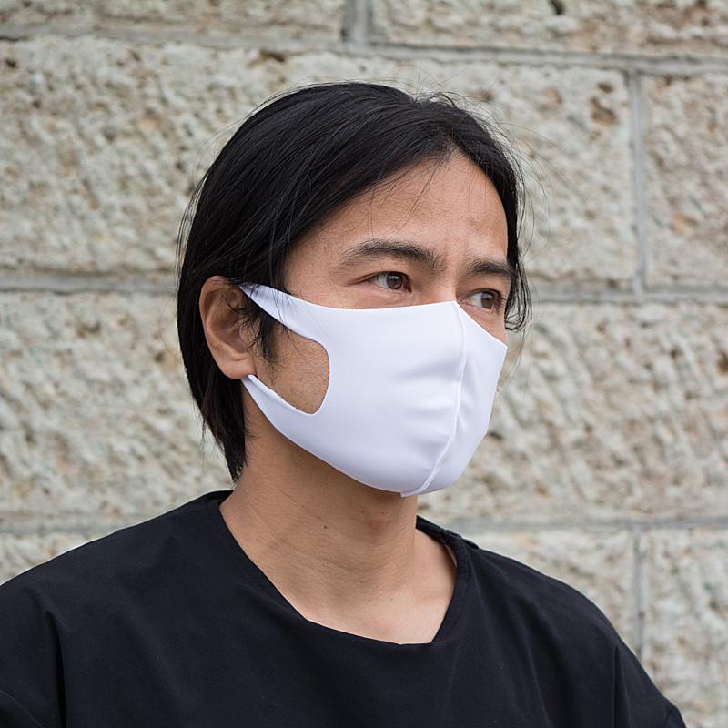 《スポーツにも!》Agシールドマスク[クール](2枚入)【抗ウイルス加工生地を使用】