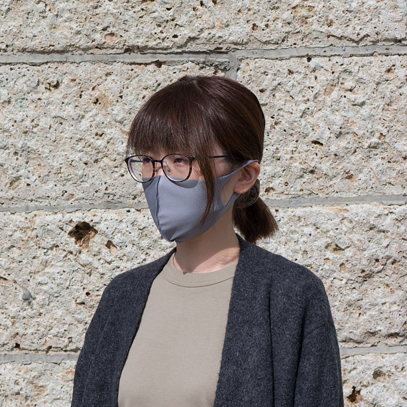【日本製】衛士の盾 ease[イーズ]マスク そふと グレー[Mサイズ]