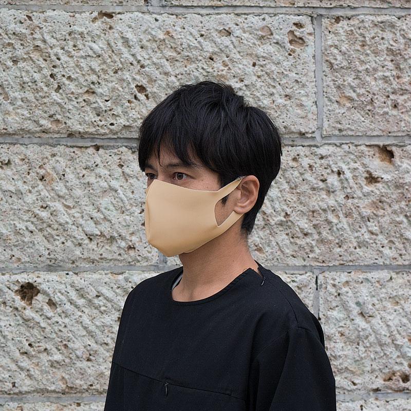 【日本製】衛士の盾 ease[イーズ]マスク リバーシブルタイプ ホワイト/ベージュ[Lサイズ]