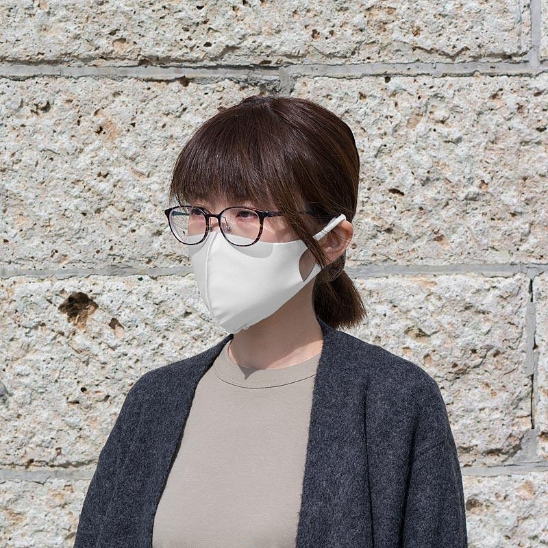 【日本製】衛士の盾 ease[イーズ]マスク そふと ホワイト[Mサイズ]