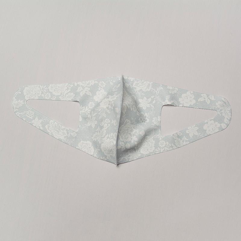 【1週間以内のお届け】Agシールドマスク[クール] 薄雲 1枚入【抗ウイルス加工生地を使用】