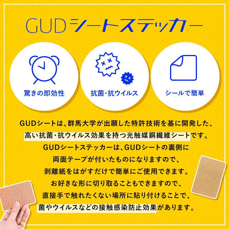 GUDシートステッカー[5枚入]