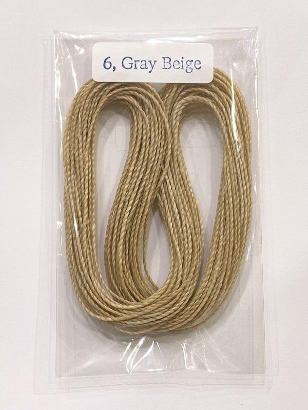 ワックスコード 約10m巻 マクラメ編み用紐