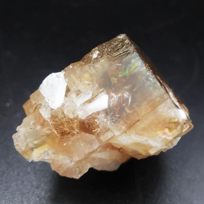 【希少!】強蛍光!オハイオ州産 イエローフローライト 原石