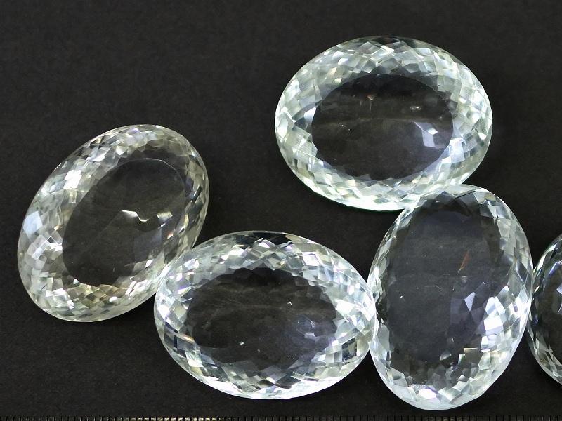 ヒマラヤ水晶 オーバルカット 大きくて存在感抜群! 透明美! 天然石ルース 1個売り 追加!