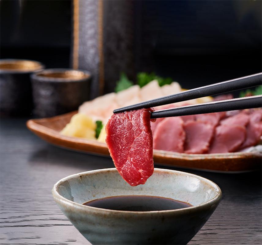 桜寿食品 馬刺し 計7人前 特上赤身・たてがみ 【送料込】