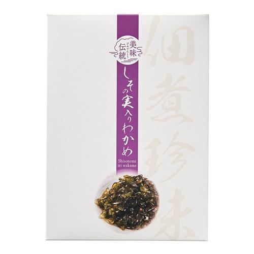 【ゆうパケット】亜味撰 美味伝統 紫蘇の実わかめ 160g