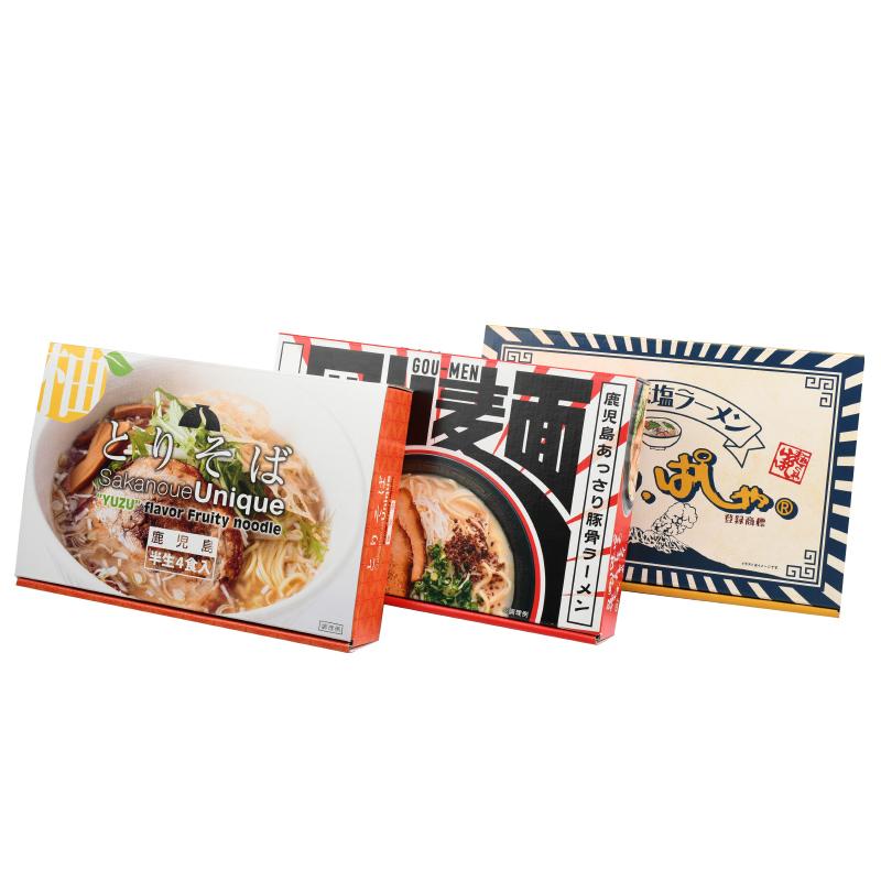 五島製麺 【送料込】鹿児島ラーメンギフトセット�