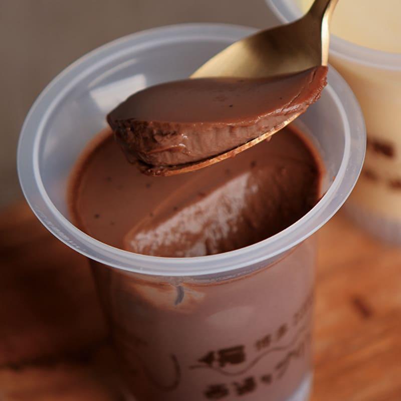 西通りプリン ショコラ