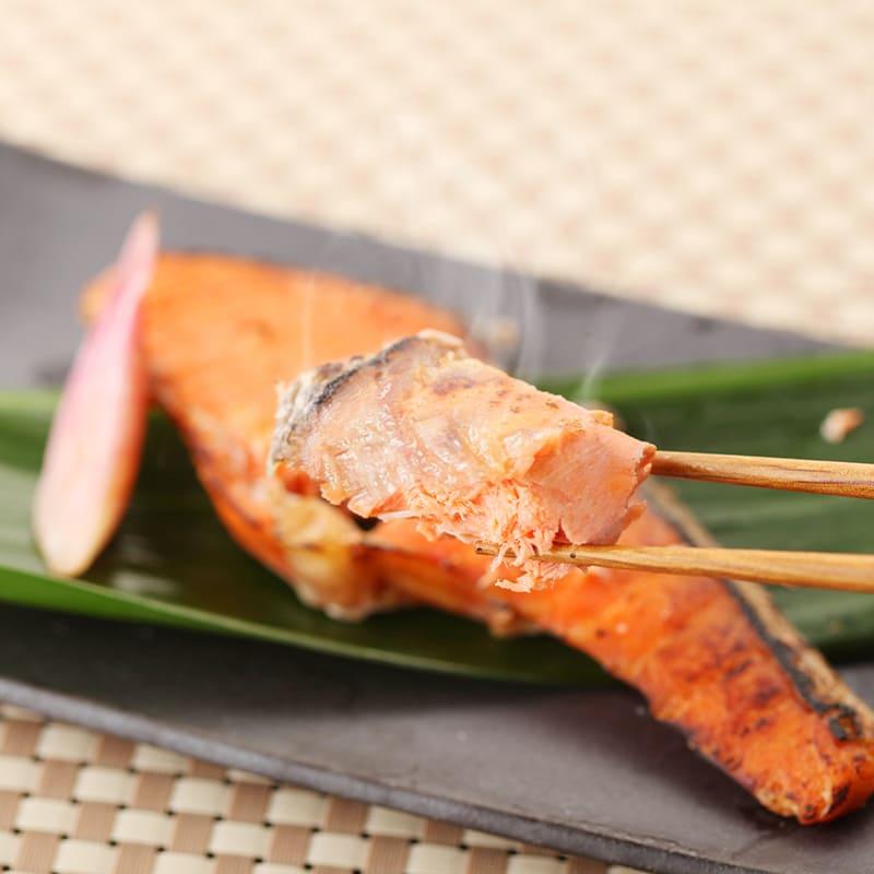 【冷凍まとめて発送】ゆう屋 鮭塩焼(2切れ入)