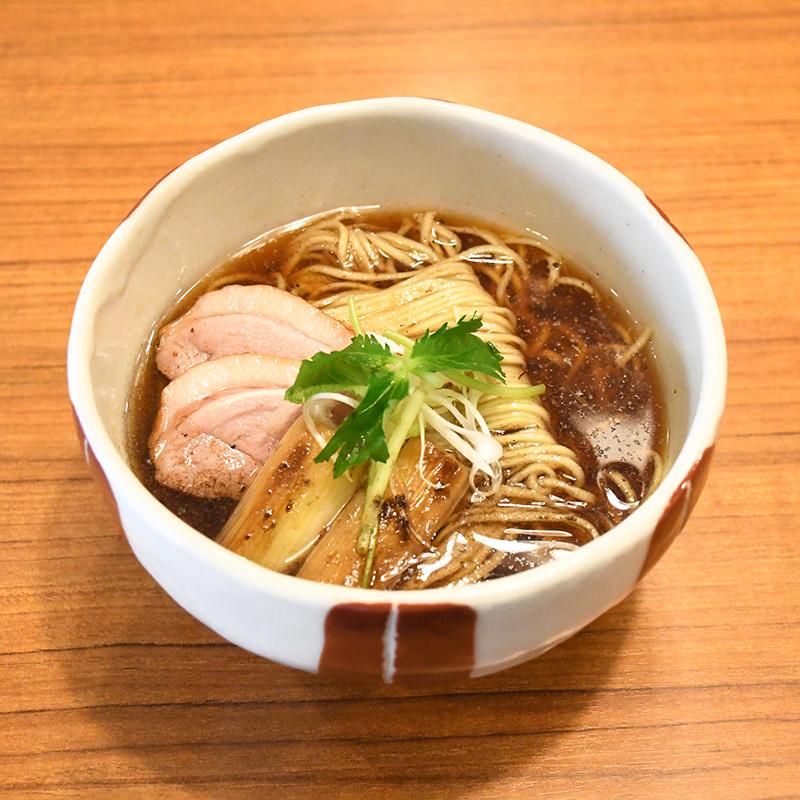 そばる 鴨だし醤油ラーメン(白トリュフ入)3食セット