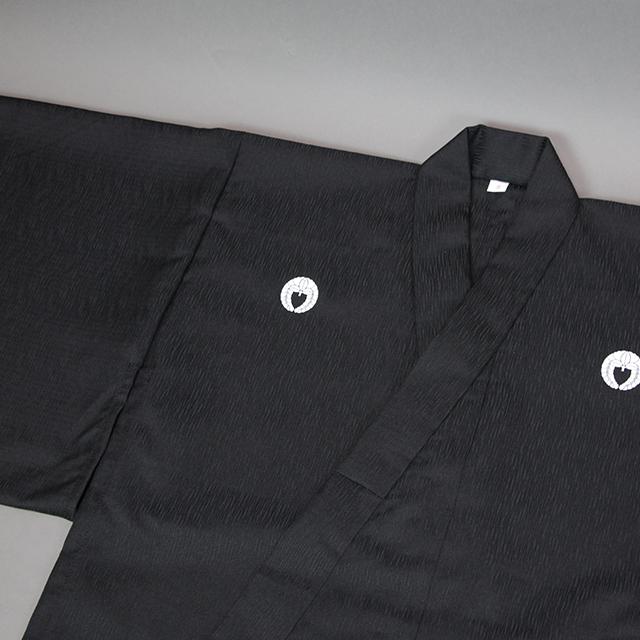 波柄ツムギ居合衣「曙(あけぼの)」(着物袖)