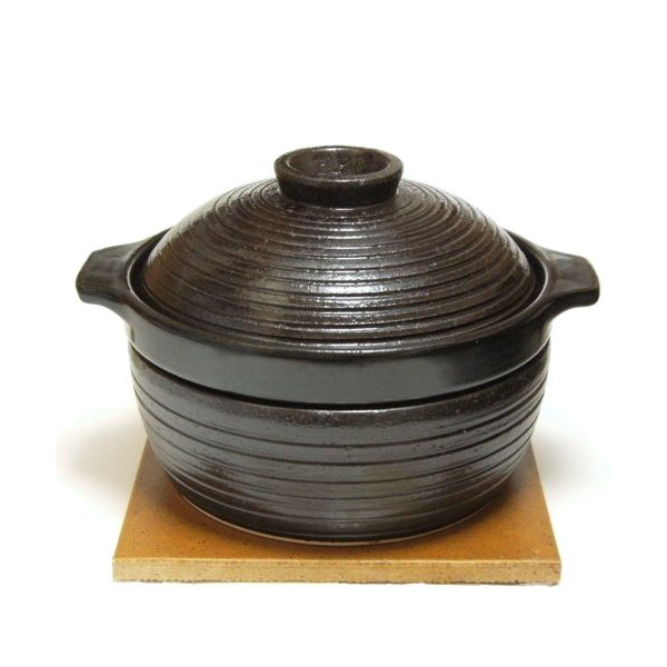 長谷園 IHかまどさん(三合炊き)