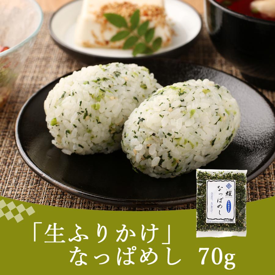 野沢菜としそとごまのふりかけ なっぱめし70g