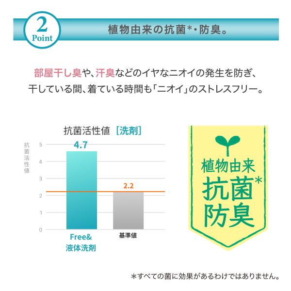 【リニューアル】ファーファ フリー&(フリーアンド) 超コンパクト液体洗剤 無香料 超特大 詰め替え4.5kg