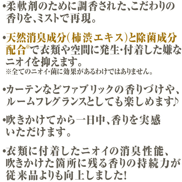 【リニューアル前商品】ファーファファインフレグランス ファブリックミスト  ボンコンジェ 本体 250ml