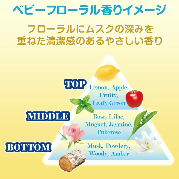 ファーファ粉末洗剤 ベビーフローラル 0.9kg (コンパクトタイプ)